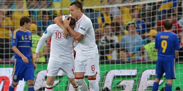 Inggris vs Ukraina 20 Juni 2012