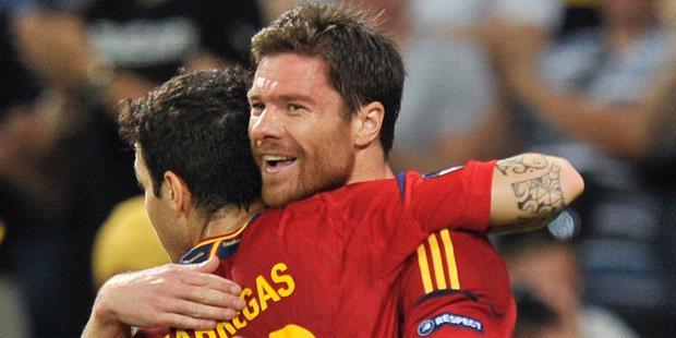 Spanyol vs Prancis 2-0, EURO 24 Juni 2012