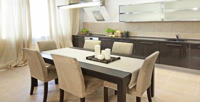 menata ruang makan lebih optimal properti