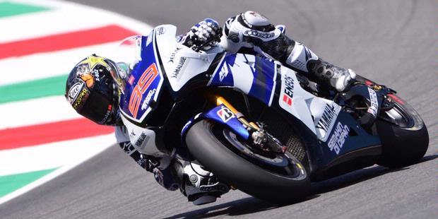 Pebalap Yamaha, Jorge Lorenzo.