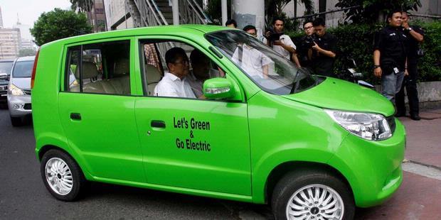 Harga Mobil Listrik Ahmadi 2012