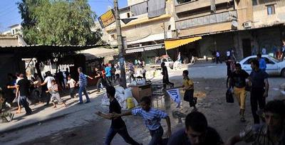 Tentara Suriah Kembali Rengkuh Aleppo