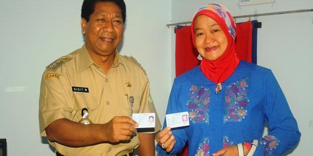 e-KTP Sudah mulai Di Distribusikan 2012