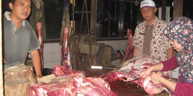 0747571620X310 Operasi Daging, Petugas Dapati Kecoa