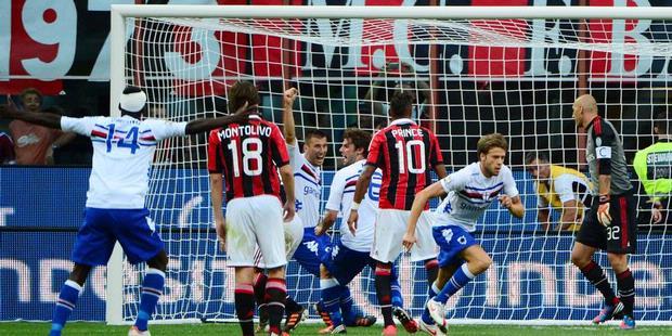 Video Milan VS Sampdoria 0-1 2012