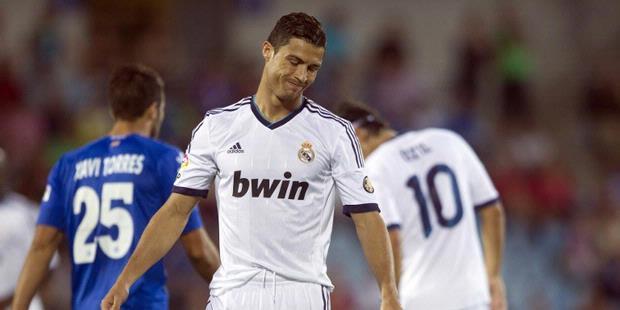 Video Kekalahan Madrid 2-1 Lawan Getafe 2012