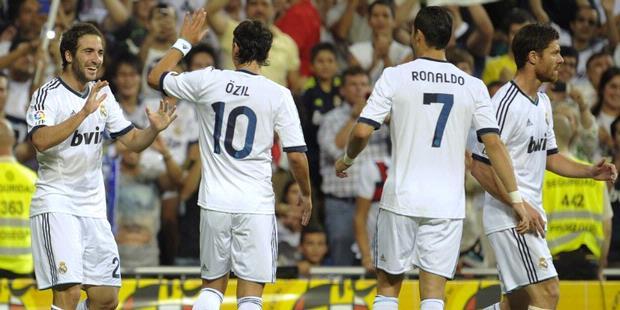 Ronaldo Antar Madrid Juarai Super Spanyol 2012