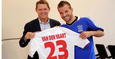 Bursa Transfer Terbaru Van Der Vaart Ke Hamburg