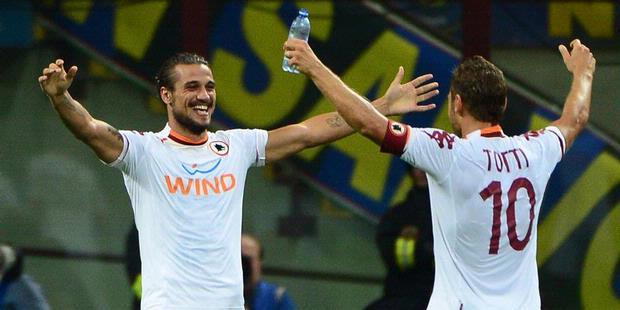Dua Assist Totti Hancurkan Inter Milan 3-1 2012