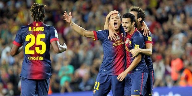 Hasil Barcelona vs Valencia, Kemenangan ke 3 Barca