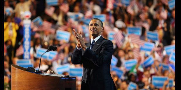 Pidato Pencalonan Massa Jabatan Kedua 2012