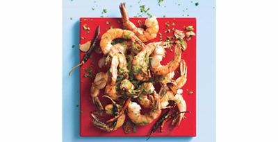 Chile-Garlic Shrimp - Latin America