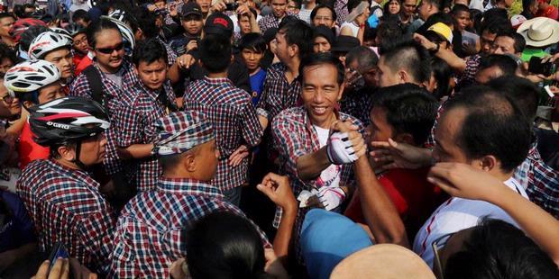 Jokowi Janji Pimpin Jakarta Sampai Tuntas