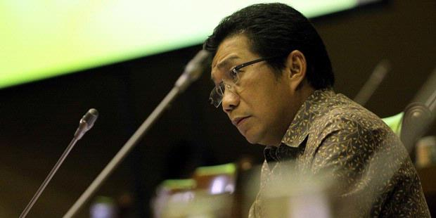 TRIBUNNEWS/HERUDIN Calon Deputi Gubernur Bank Indonesia Muliaman D