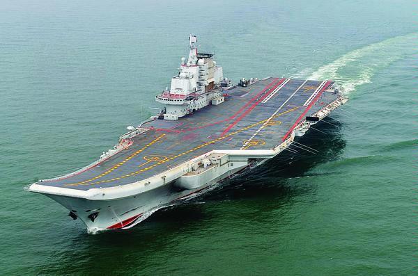 Tak Ada Pesawat Tempur di Kapal Induk China