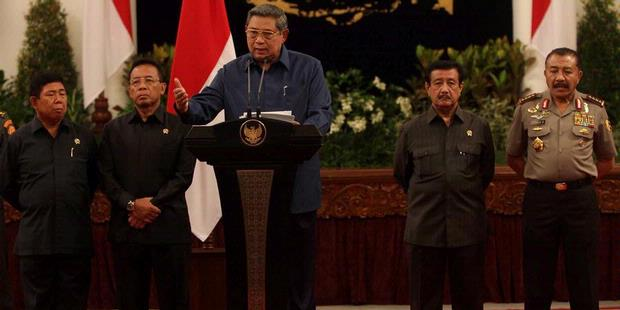 Pidato Lengkap Presiden SBY Mengenai Kasus KPK vs Polri