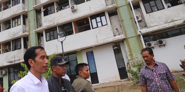 Jokowi Tak Mau Jakarta Jadi Kota Terkumuh