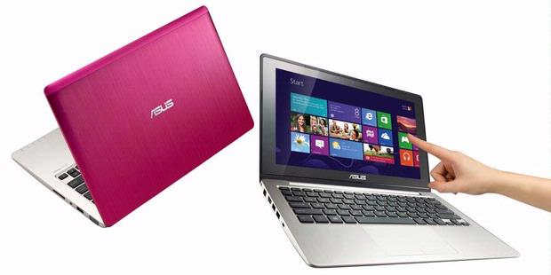 Asus VivoBook, Notebook Layar Sentuh Windows 8