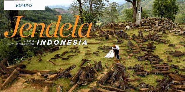 KOMPAS Jendela Indonesia: Situs Gunung Padang