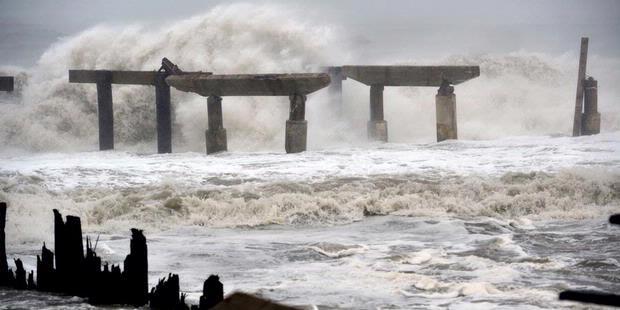 Foto Badai Sandy Sudah Menerpa Amerika Serikat