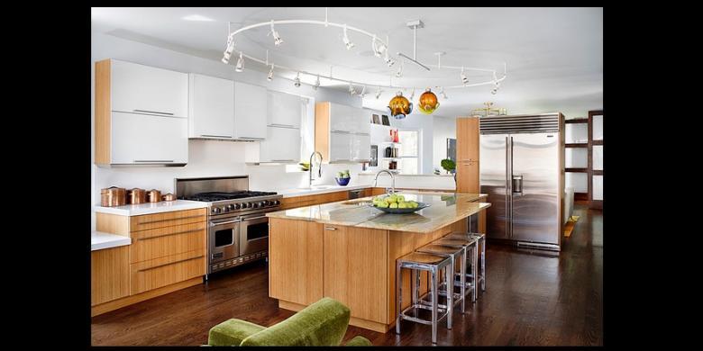 Bright kitchen lighting ideas