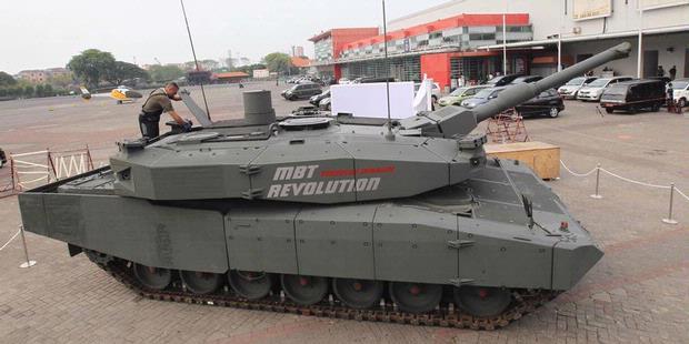 Litbang AU Ikut Indo Defence