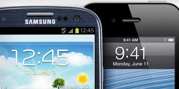 Smartphone, samsung, apple, galaxi, tab, ponsel