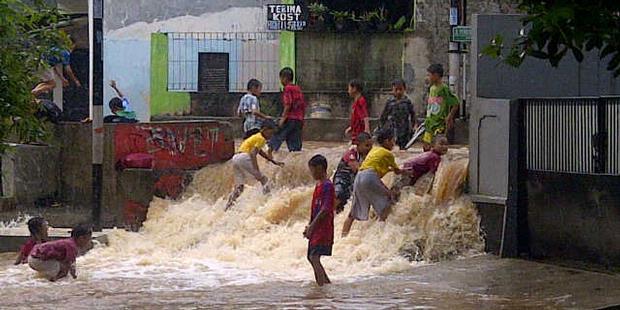 Jokowi Ajak Aparat Turun ke Lokasi Banjir