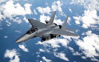F-15 Arab Saudi Jatuh Saat Latihan