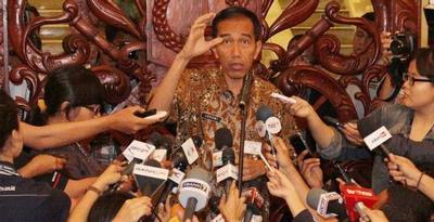 Joko Widodo Tokoh Publik Pilihan Versi SPS