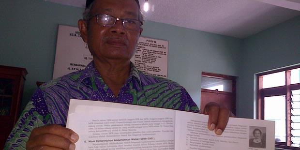 Heboh Soal Ujian Madrasah Aliyah Lecehkan Gus Dur Berita Update Terbaru