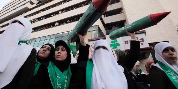 0839307 aksi hamas di tepi barat 620X310 Hamas Gelar Aksi Massa di Tepi Barat