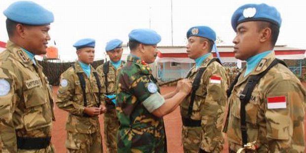 PBB Beri Penghargaan TNI di Kongo