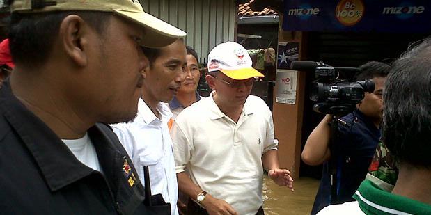 Jokowi Yakin Sumur Resapan Mampu Atasi Banjir