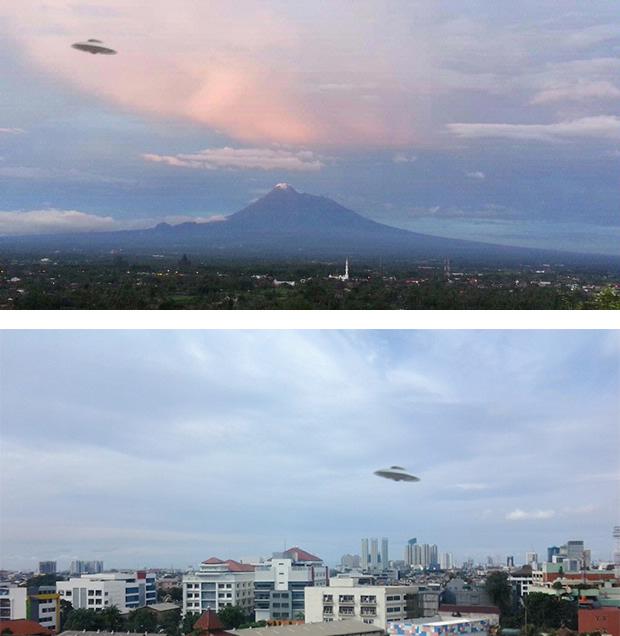 FOTO UFO MERAPI 2013 PENAMPAKAN TERBARU