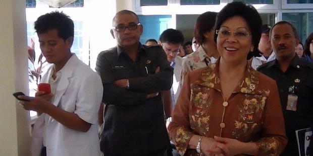 0057556 menkes kunjungan ke rsud mimika 620X310 Mimika Dinilai Layak Jadi Rujukan Kesehatan di Papua