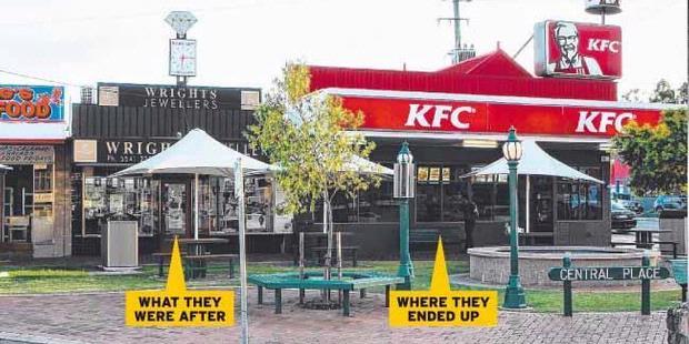 Mau Merampok Toko Emas Malah Masuk ke KFC
