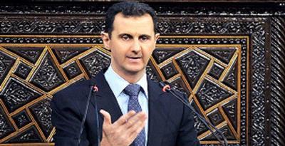 1347456 bashar alassad  p Mursi Dukung Assad Diseret ke Pengadilan Kejahatan Perang