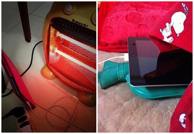 Ahaaa.....Begini Caranya Orang Cina Charge iPad