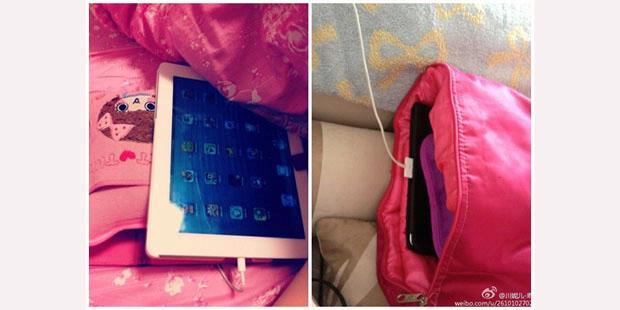 "Cara Unik ""Ngecharge"" iPad di China"