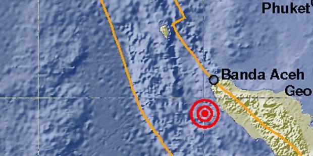 Banda Aceh Diguncang Gempa 6,0 SR