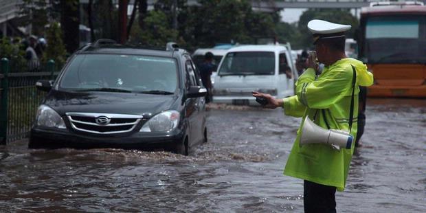 Inilah Titik-titik Banjir di Jakarta Pagi Ini