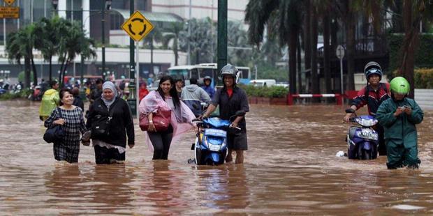 Banjir Jakarta Januari 2013