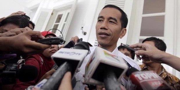Jokowi Larang Korban Banjir Minta Sumbangan di Jalan