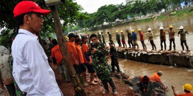 Jokowi: Saya Masih Ragu Jakarta Bisa Bebas Banjir