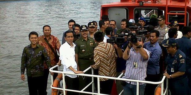 Jokowi: Sungai Akan Bersih Kalau Jadi Jalur Transportasi