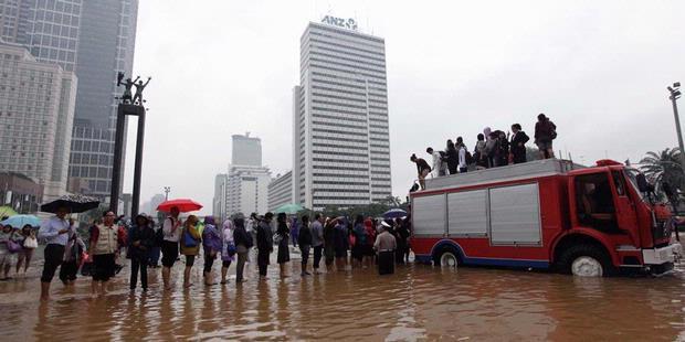 Ini 4 Penyebab Banjir Jakarta