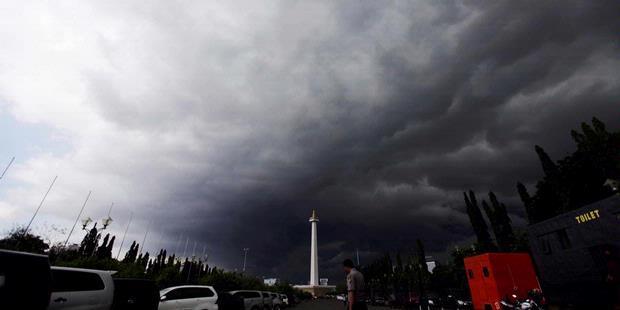 Jokowi Nilai Rekayasa Cuaca Jakarta Berhasil