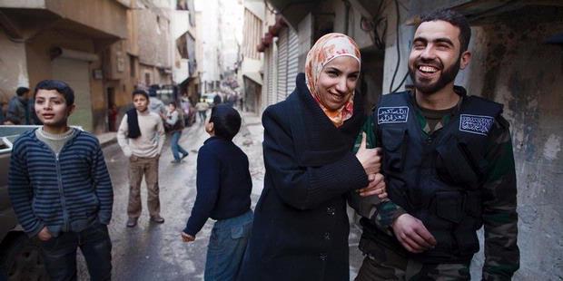 Kisah Cinta Yusef dan Ghada di Tengah Perang Suriah