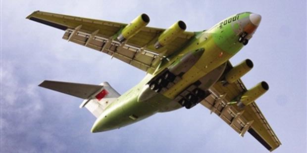 China Sukses Uji Coba Pesawat Angkut Jarak Jauh